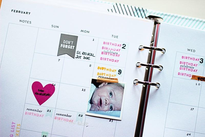 Planner february sneak original